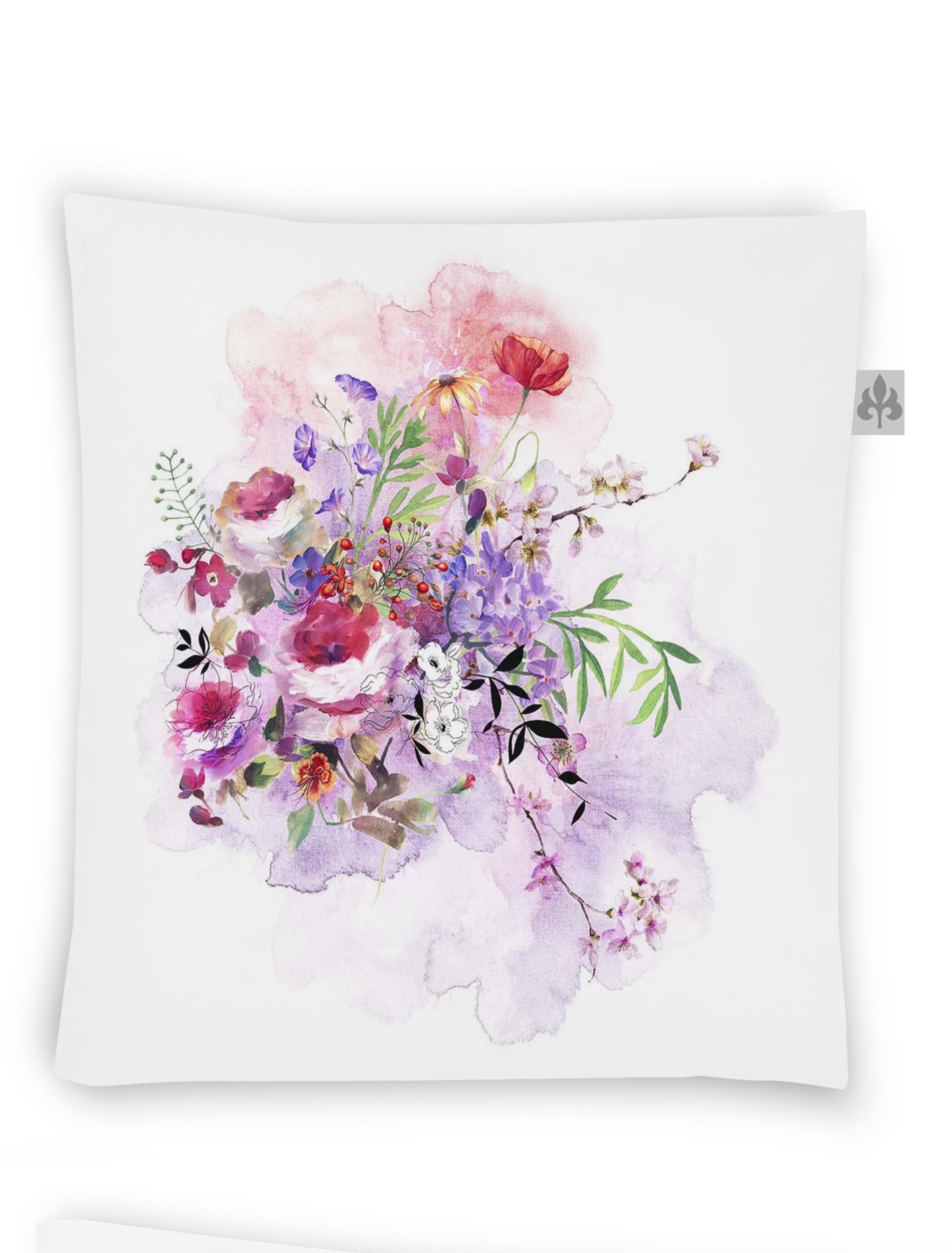 Textilfaser Dekokissen Auszeit Jolly-Set 8926-60
