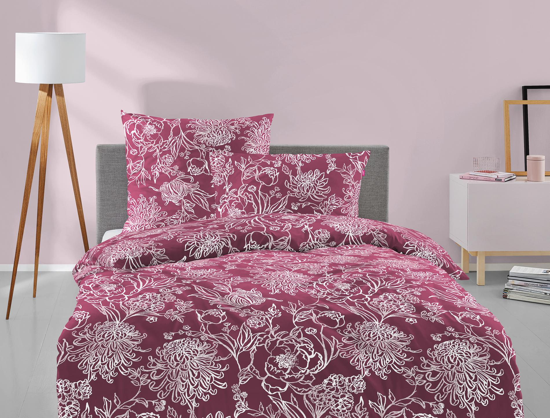 Satin Bettwäsche Set Corado 8932-60
