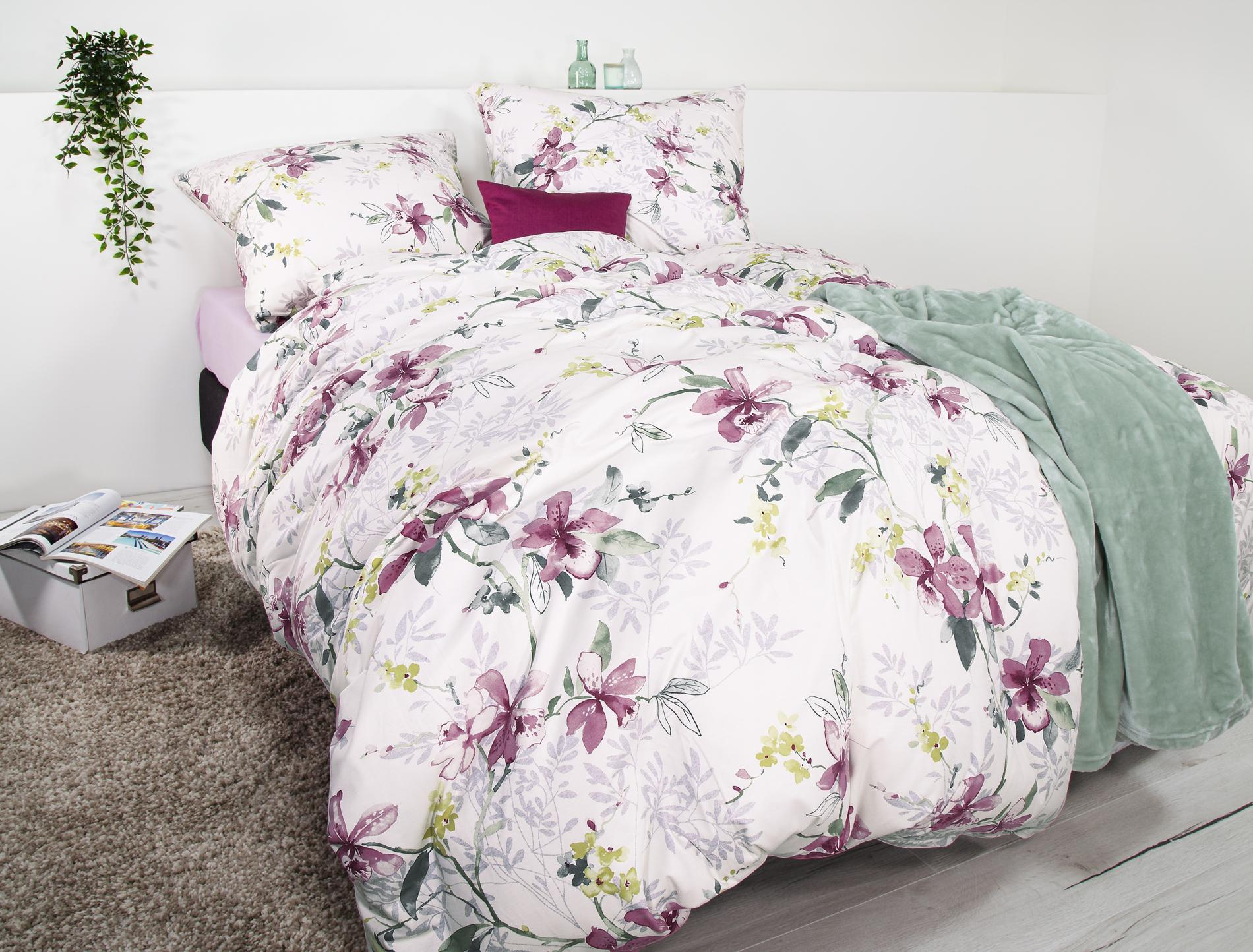 Jersey Bettwäsche Set Orchidea Cora 8187-60