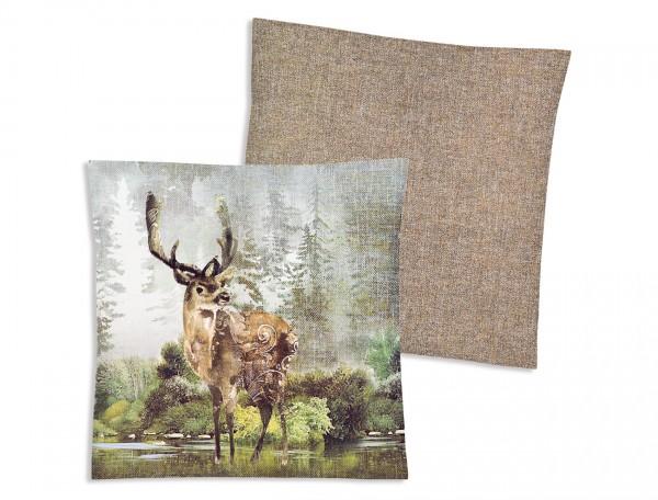 Textilfaser Dekokissen Cozy-Set