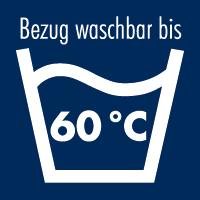 Bezug waschbar bis 60°C